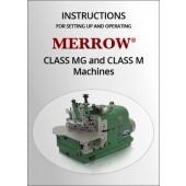 M/MG Set-up and operations manual