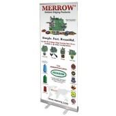 MERROW Banner Stand